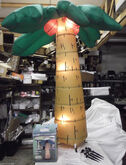 GEMMY 6' Lighted AIRBLOWN PALM TREE Inflatable Christmas Nativity YARD DISPLAY