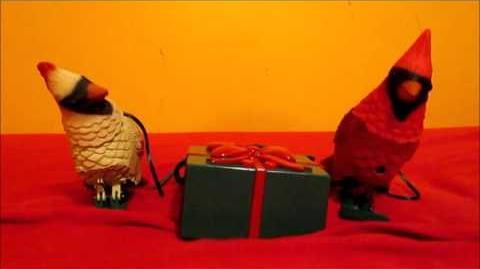 Gemmy - Animated Christmas Cardinals