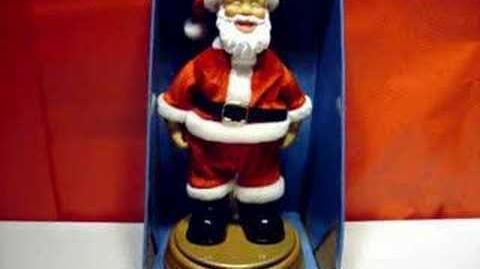 15905 Gemmy Mooning Santa
