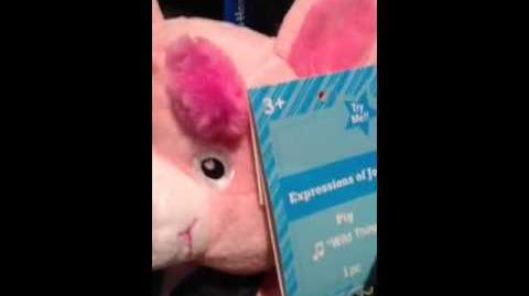 (Gemmy) Expressions Of Joy - Pig - Wild Thing-1