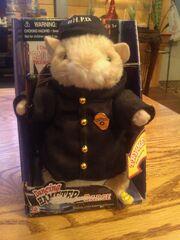 Gemmy Hamster Police Plush Sings Bad Boys Cops Club Works Intermittently P3