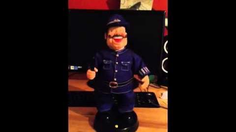 Gemmy singing and dancing laughing policeman reupload