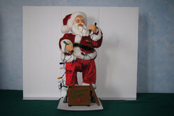 Gemmy holidayized santa 4