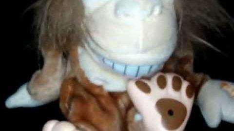 Joe Blow the Vulgar Farting Monkey Plush Toy Animated Gemmy