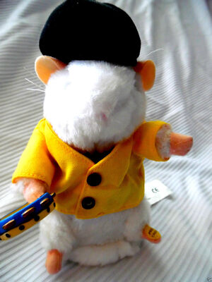 Gemmy Dancing Hamster ''50's SINGER!'' Plays music and dances! VERY RARE