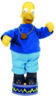 Animated Rapping Homer Simpson