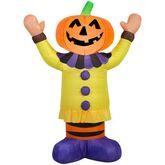 Gemmy 2016 inflatable-Jack-O-Lantern Clown