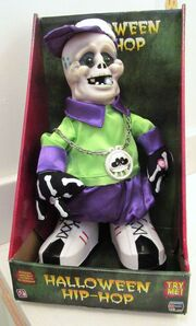 GEMMY HALLOWEEN ANIMATED HIP- HOP FUNKY FREAKSTER 2006 GEMMY INDUSTRIES CO.