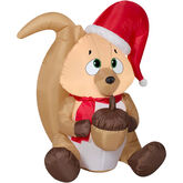 Gemmy 2016 inflatable-Christmas Chipmunk with acorn