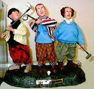 Talking Golfing 3 stooges