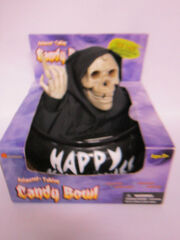Animated Talking Eyes Light Candy Bowl Dish Halloween Decoration Trick or Treat