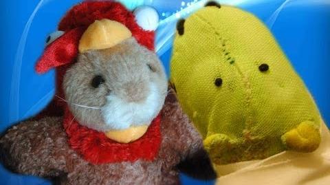 Dancing Hamster - Harry Turkey - Somebody's watching me Turkey Parody saying (RARE!)