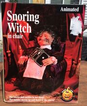 Animated Snoring Witch By Halloween Factory Gemmy Industries Corp