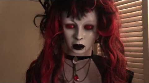 Gemmy 2017 Black Widow Bride