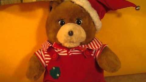 Gemmy - Buddy the Christmas Story Bear
