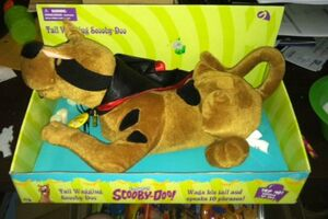 Electronic Tail Wagging Talking Scooby-Doo Plush