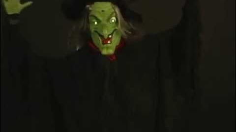 Gemmy Shaking Witch