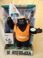 Animated tennessee sports gorilla