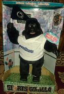 NEW- cheering, dancing, moving, musical Gorilla Penn State Gemmy product