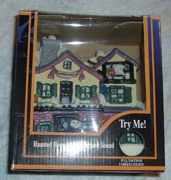 Classic GEMMY Halloween Factory Haunted House Decoration 1995 lights and sounds