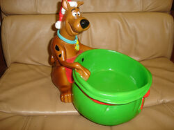 Gemmy christmas scooby doo candy bowl