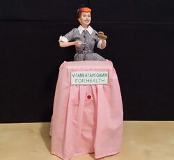 I Love Lucy Vitameatavegamin Gemmy Collectors Edition 14'' Animated Figure IOB