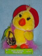 2005 NEW MOVIN & GROOVIN CHICK PARADE GEMMY battery operated stuffed PLUSH TOY