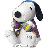 Animated Dancing Easter Snoopy