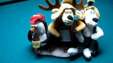 Xmas hillbilly trio