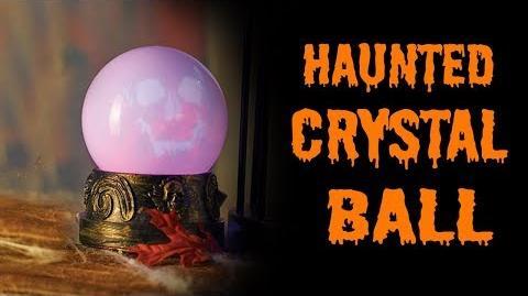 New GEMMY 2017 HAUNTED SKULL CRYSTAL BALL!
