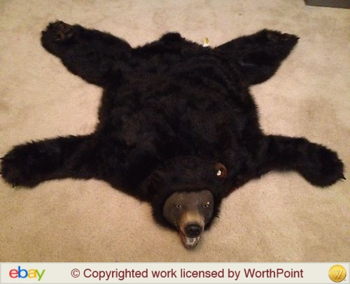 Nice GEMMY BEAR SKIN RUG ANIMATED BUD THE TALKING BEAR Great Pictures