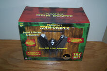 Gemmy Floating Grim Reaper Sound & Motion Activated 2ft Wide