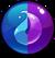 Gem Blue Purple