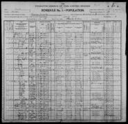 Census of Florence Township Benton County Iowa 1900 pg01