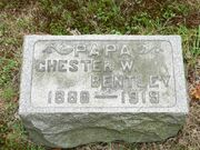 Chester W. Bentley tombstone