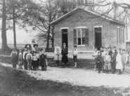 Greene county OH schoolhouse children