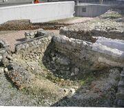 Michaelerplatz Vienna romain ruins Sept 2007