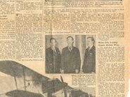 Eddie August Schneider (1911-1940) in a 1937 newspaper