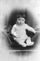 Adolf Hitler as infant