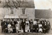 Wedding of Edward Baglin and Florence jenner at The Haven (parents home of bride) 1931
