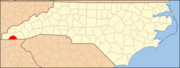 North Carolina Map Highlighting Clay County.PNG