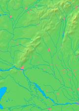 Trnava Region - background map
