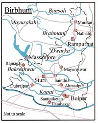 Birbhum Map
