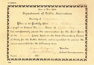 Lattin-Eva 1903 school