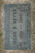 Irene Anna Helena Bremer (1895-1980) Headstone