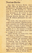 Norton-Thomas 1950 marriage