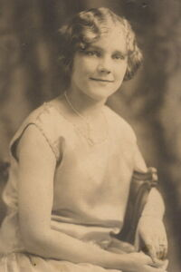 Yolanda's engagement 1926
