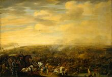 Prince Maurice at the Battle of Nieuwpoort