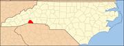 North Carolina Map Highlighting Polk County.PNG