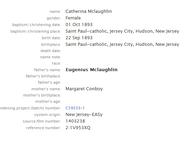 Mclaughlin-Catherine 1893 birth